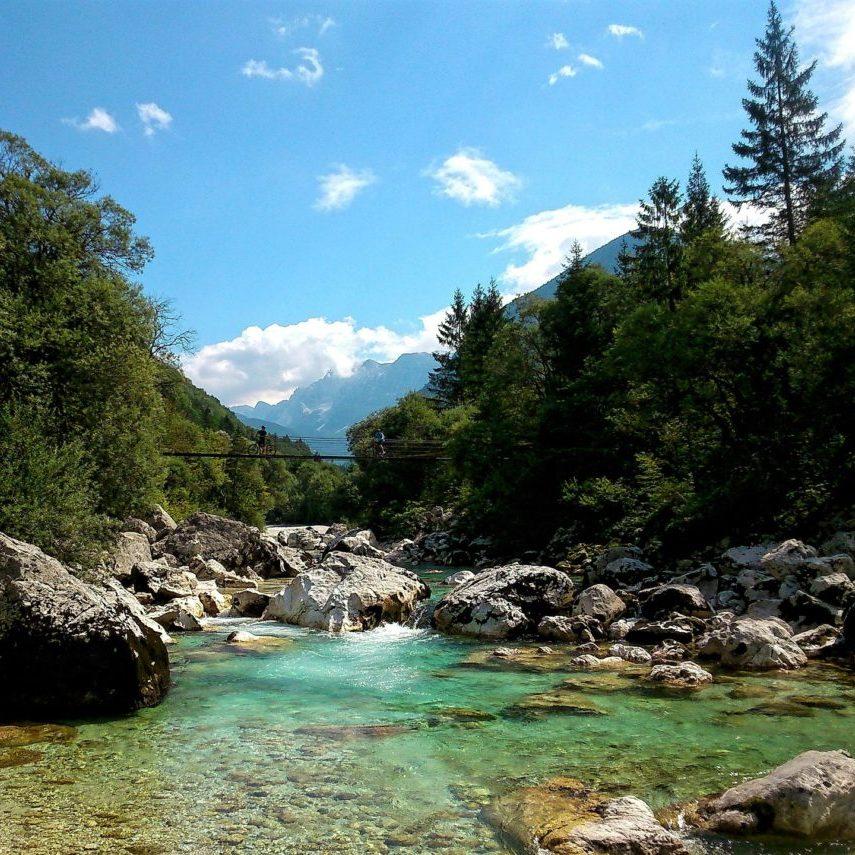 Bovec en Slovénie